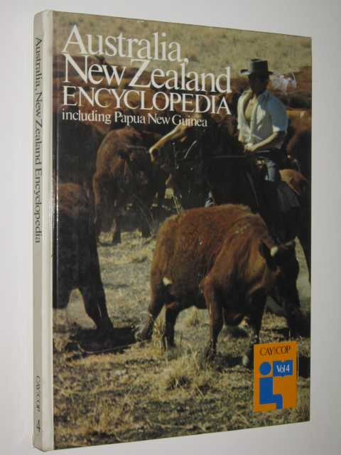 Image for Australia, New Zealand Encyclopedia CAY|COP Vol 4