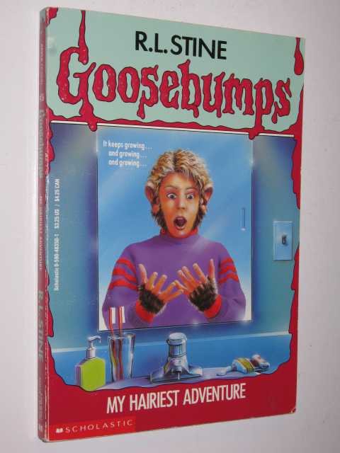Image for My Hairiest Adventure - Goosebumps Series #26