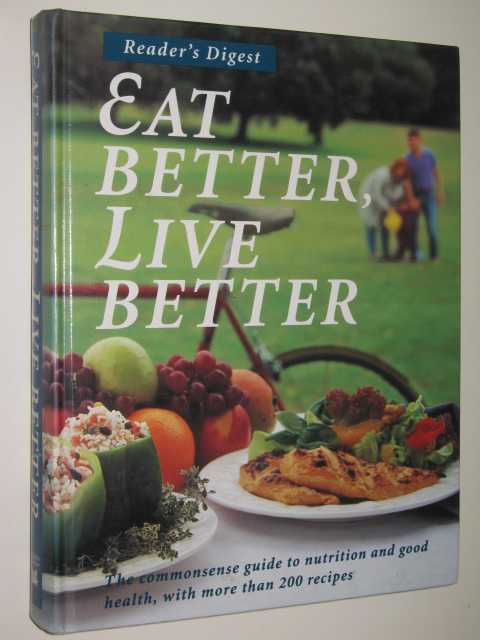 Image for Eat Better, Live Better