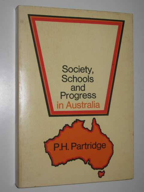 Image for Society, Schools, and Progress in Australia