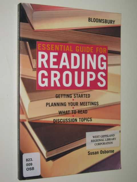Image for Essential Guide for Reading Groups
