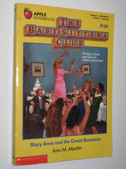 Image for Mary Anne and the Great Romance - Baby-Sitters Club Series #30