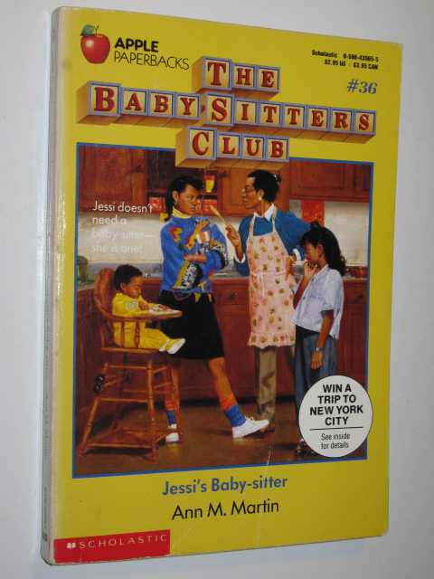 Image for Jessi's Baby-Sitter - Baby-Sitters Club Series #36