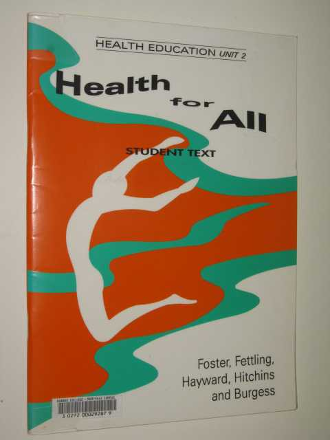 Image for Health Education Unit 2 : Health for All