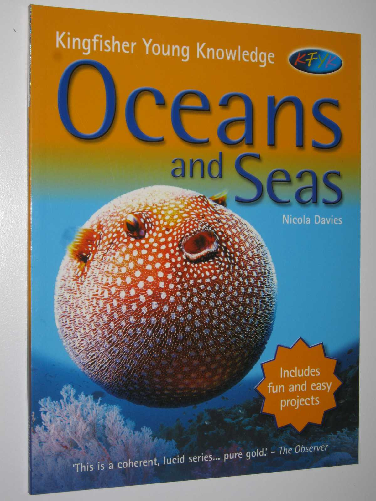 Image for Oceans and Seas - Kingfisher Young Knowledge Series