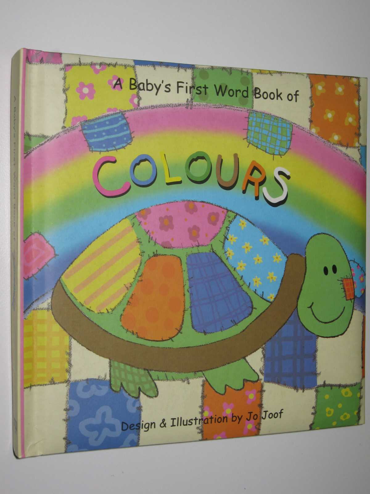 Image for A Baby's First Word Book of Colours [Board book]