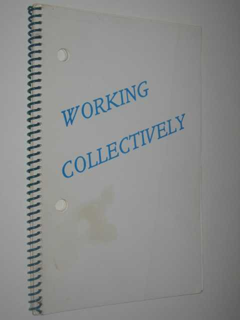Image for Working Collectively