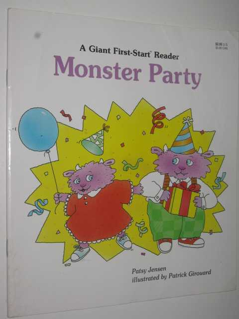 Image for Monster Party : A Giant First-Start Reader