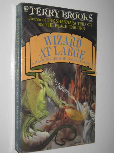 Image for Wizard at Large - The Magic Kingdom of Landover Series #3