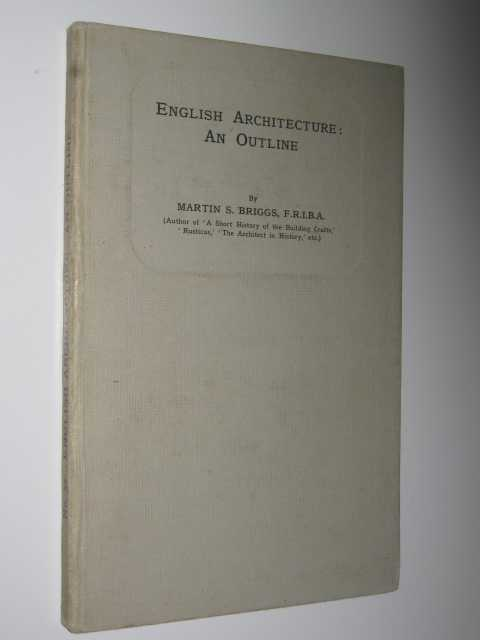 Image for English Architecture : An Outline