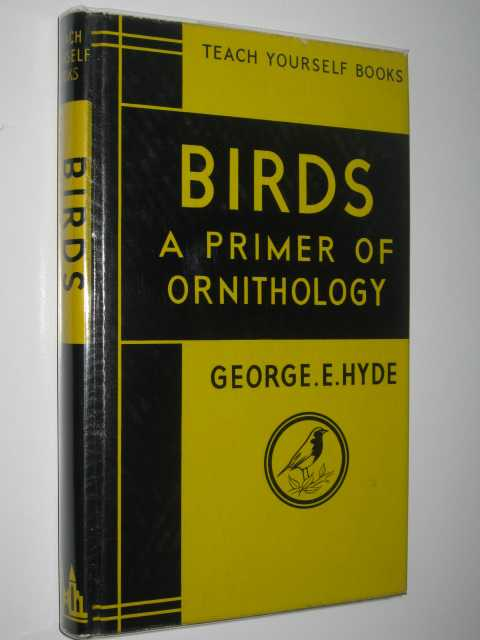 Image for Birds: A Primer of Ornithology - Teach Yourself Books