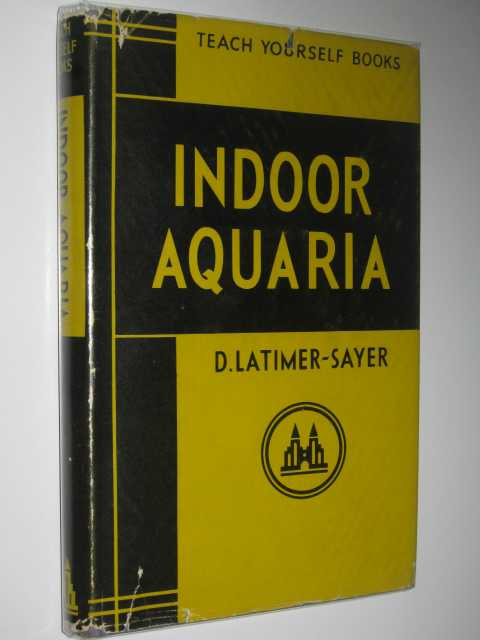 Image for Indoor Aquaria - Teach Yourself Books