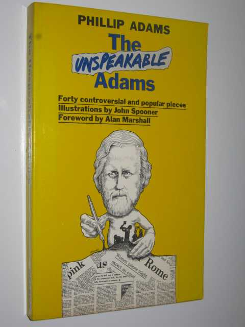 Image for The Unspeakable Adams