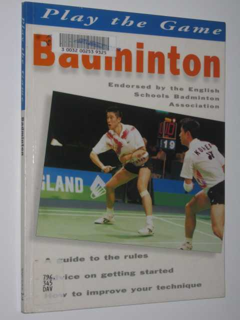 Image for Badminton - Play the Games Series