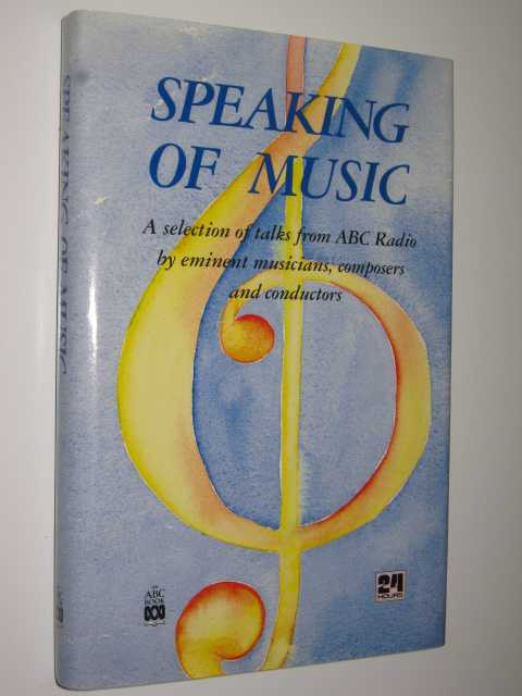 Image for Speaking of Music