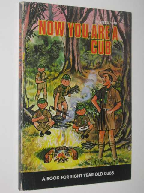 Image for Now You Are A Cub : Book for eight year old cubs