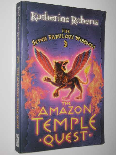 Image for The Amazon Temple Quest - Seven Fabulous Wonders Series #3