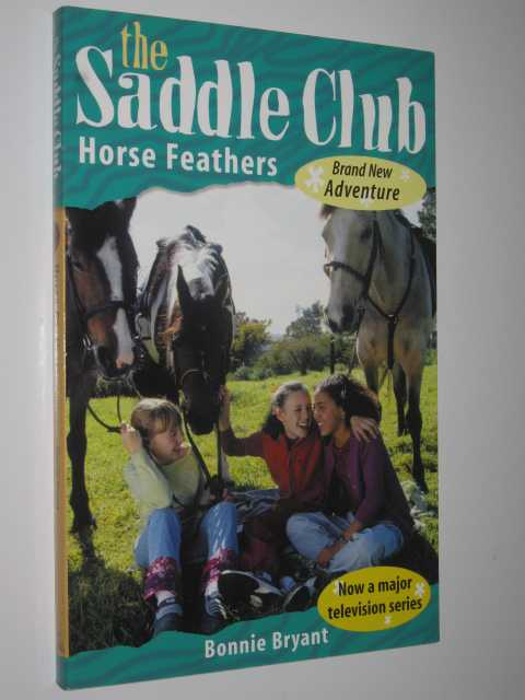 Image for Horse Feathers - The Saddle Club Series #98