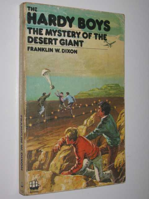 Image for Mystery of the Desert Giant - The Hardy Boys Series #6