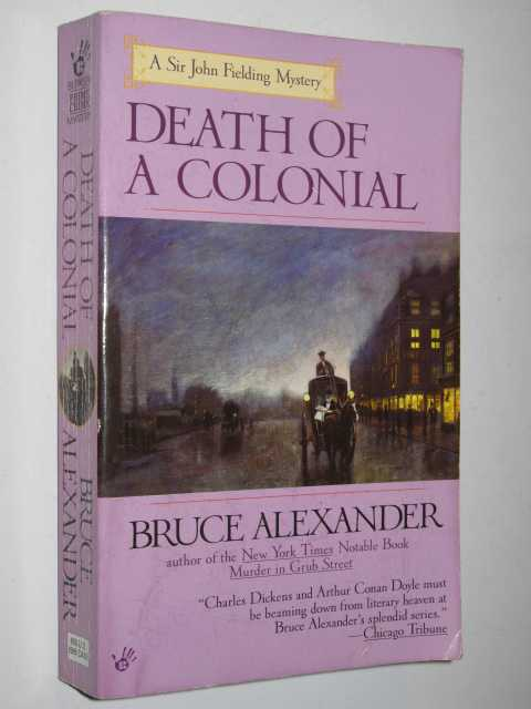Image for Death of a Colonial