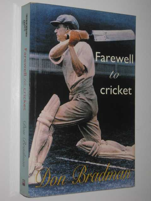 Image for Farewell to Cricket