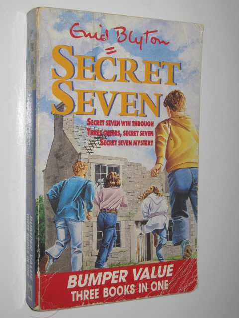 Image for Secret Seven 3 Books In 1 : Secret Seven Wins Through, Three Cheers, Secret Seven & Secret Seven mystery