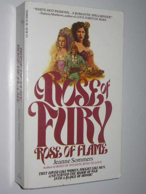 Image for Rose Of Fury, Rose Of Flame