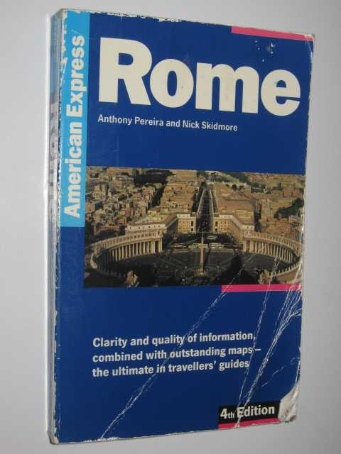 Image for Rome - American Express Travel Guides Series