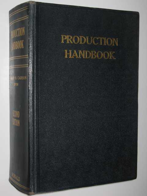 Image for Production Handbook