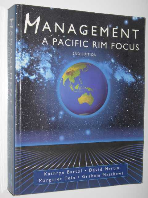 Image for Management : A Pacific Rim Focus