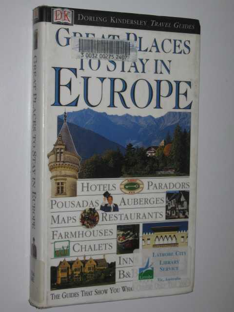 Image for Great Places To Stay In Europe
