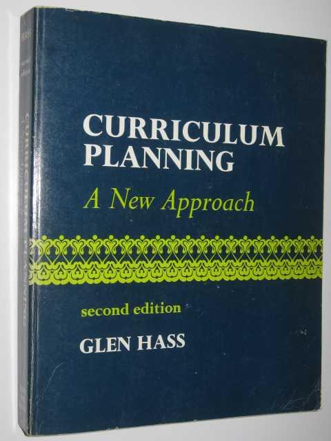 Image for Curriculum Planning: A New Approach