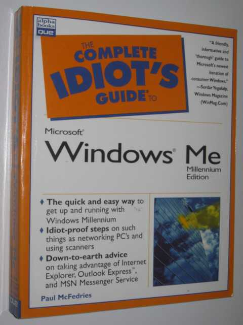 Image for The Complete Idiot's Guide to Microsoft Windows Millennium