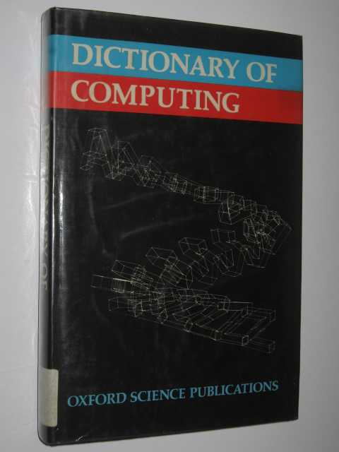 Image for Dictionary Of Computing