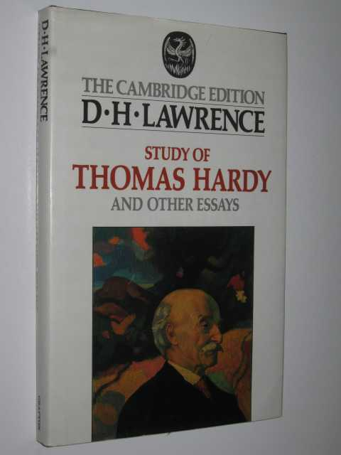 Image for Study of Thomas Hardy and Other Essays