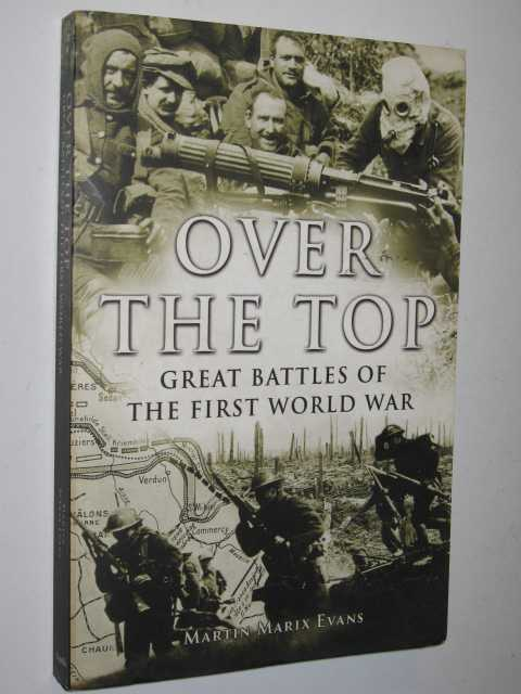 Image for Over the Top : Great Battles of the First World War