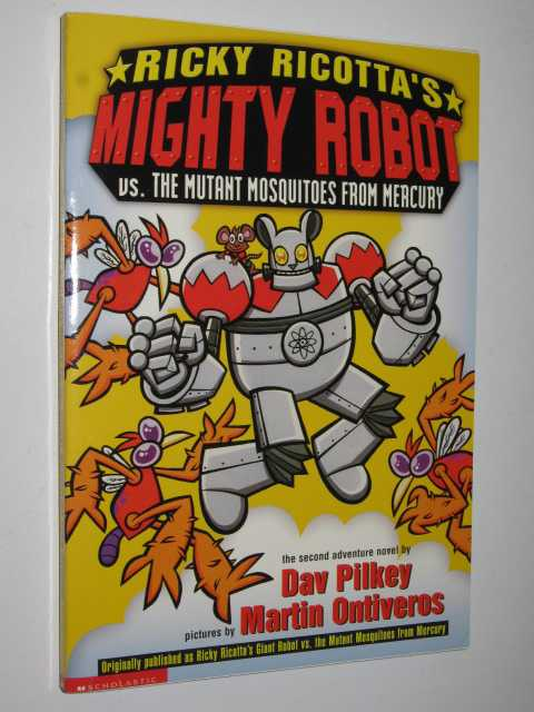 Image for Ricky Ricotta's Mighty Robot Vs The Mutant Mosquitoes From Mercury