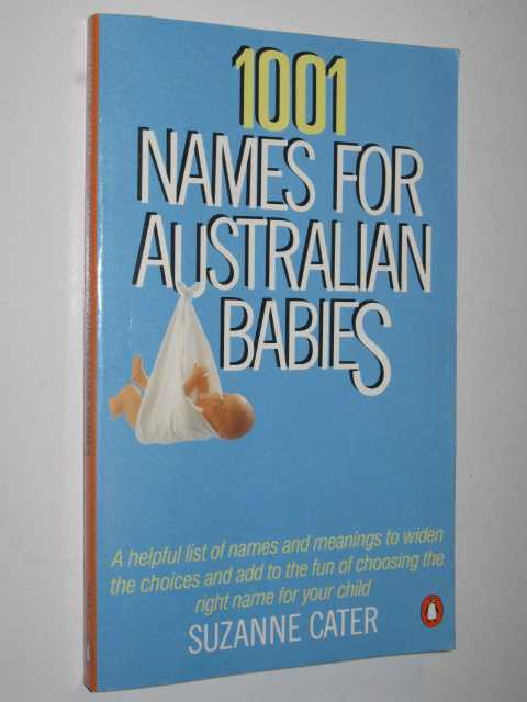 Image for 1001 Names for Australian Babies