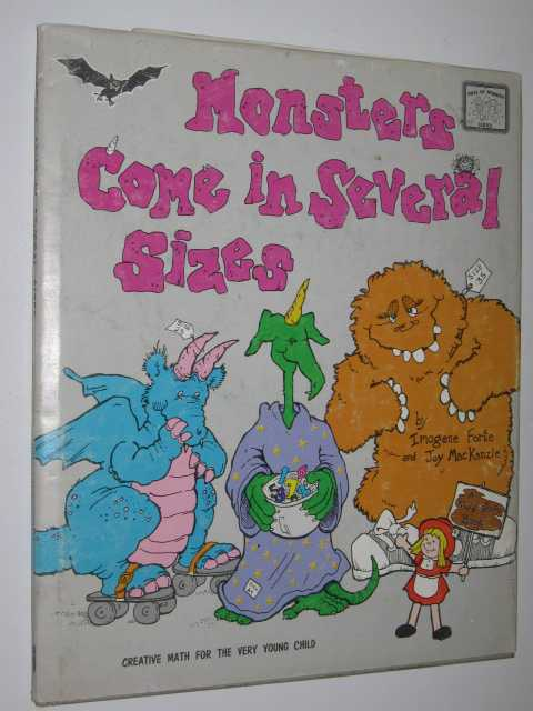 Image for Monsters Come In Several Sizes - Creative Maths For The Very Young Child Series