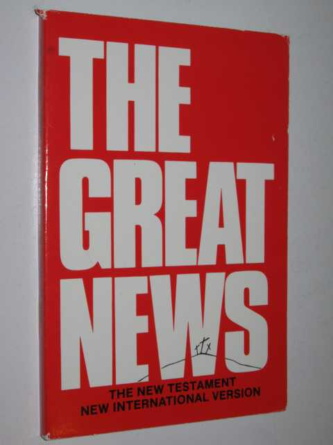 Image for The Great News: The New Testament, New International Version