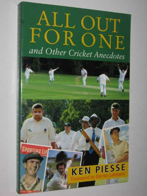 Image for All Out for One and Other Cricket Anecdotes