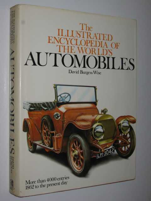Image for The Illustrated Encyclopedia of the World's Automobiles