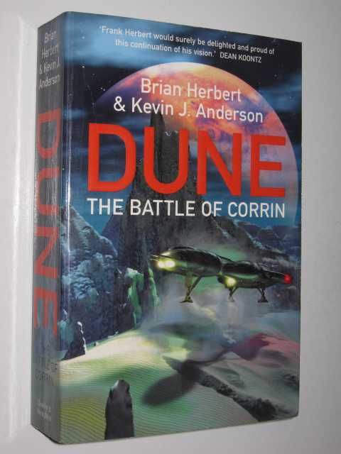 Image for DUNE: The Battle of Corrin
