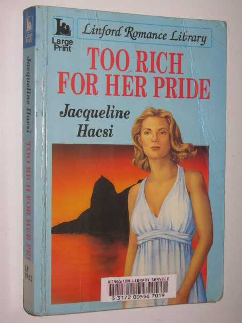 Image for Too Rich For Her Pride