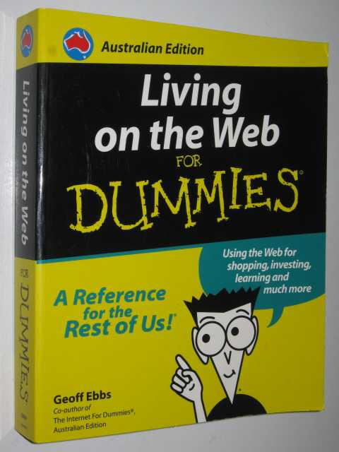 Image for Living On The Web For Dummies