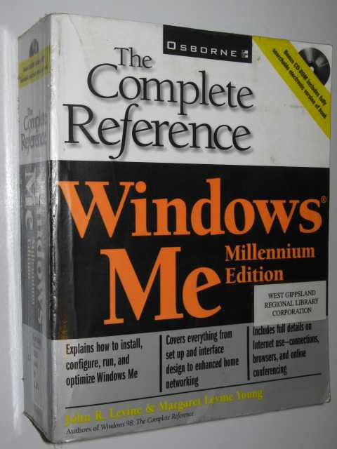 Image for Windows Millennium Edition The Complete Reference