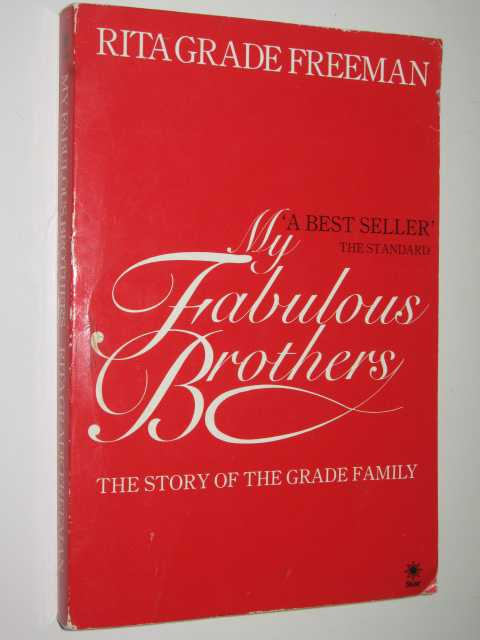 Image for My Fabulous Brothers : The Story of the Grade Family