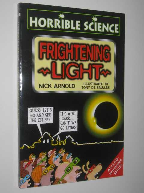Image for Frightening Light - Horrible Science Series