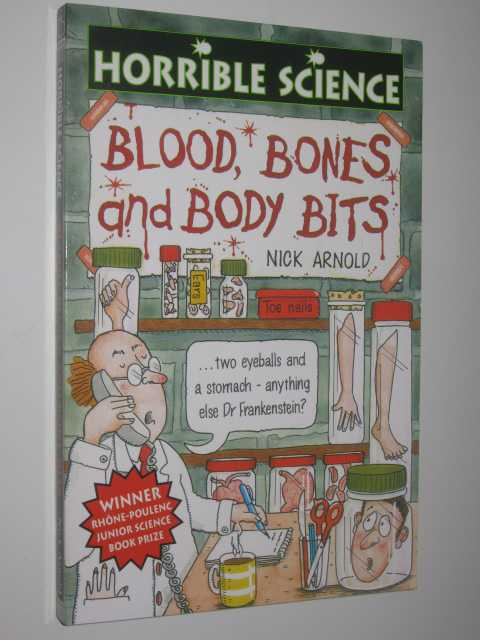 Image for Blood, Bones and Body Bits - Horrible Science Series