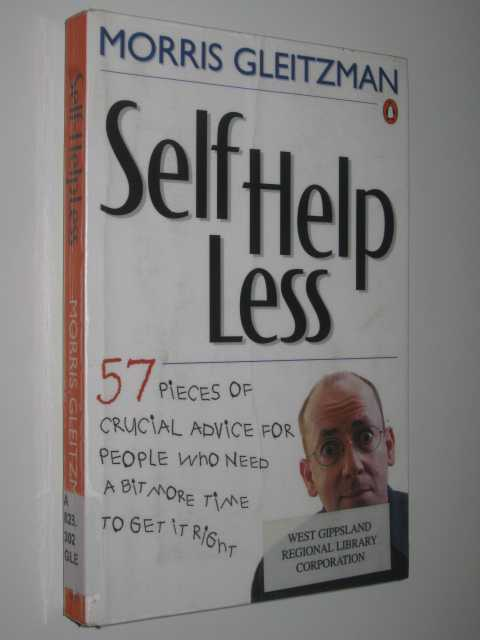 Image for Self Help Less